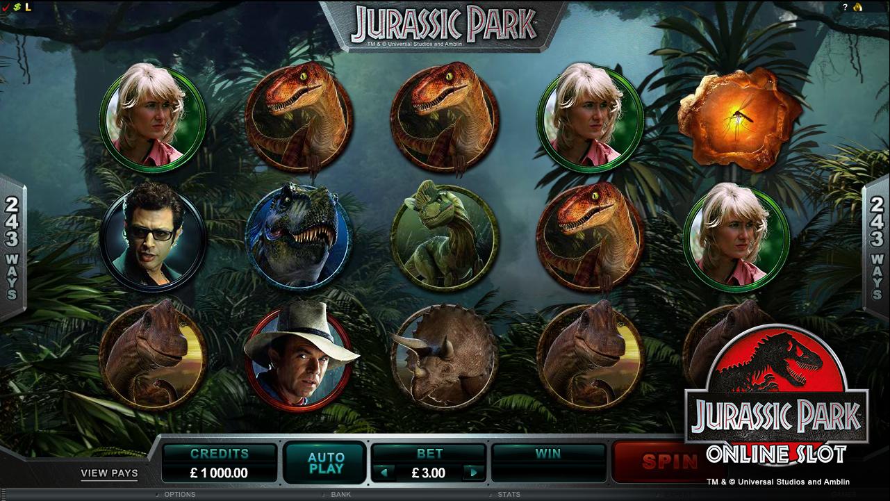 Play Jurassic Park Online Pokies