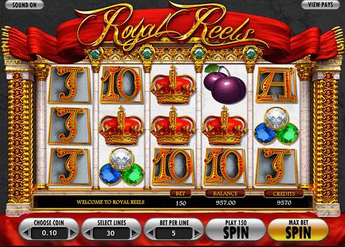 Image for Royal Reels Online Pokie Review