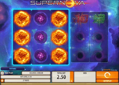Image for Supernova Online Pokie